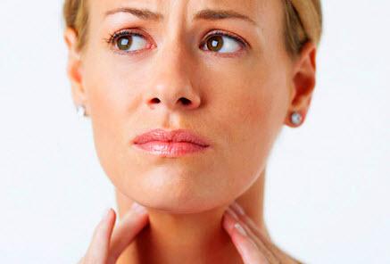 Симптомы абцесса горла