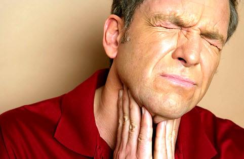 Первые симптомы ангины